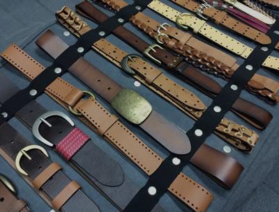 ... Proceso de fabricación cinturones de cuero ... 17ac6ee64e8c